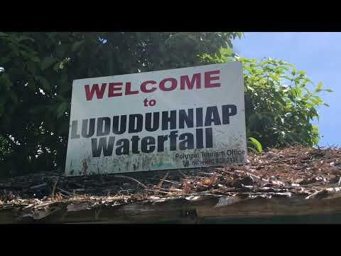 Walking Around Pohnpei In Micronesia