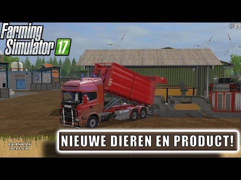 """NIEUWE DIEREN EN PRODUCT!"" FarmingSimulator 17 Frisian March #49"