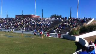 Albany State Marching Band opens up with