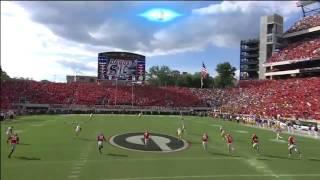 Odell Beckham Jr. One Handed Kickoff Catch vs Georgia