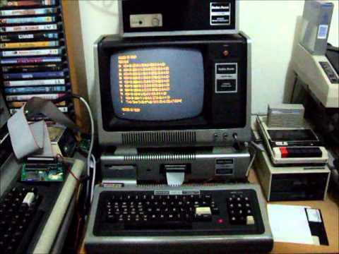 FreHD Auto-boot Eprom On TRS-80 Model 1