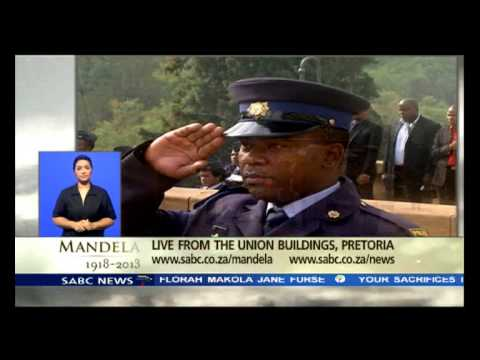 Madiba's body has arrived at the Union Building