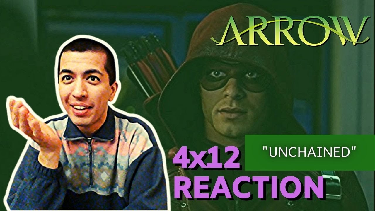 """Download Arrow - 4x12 REACTION!! """"Unchained"""""""