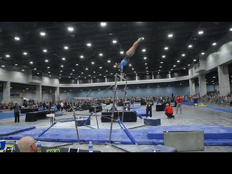 Abigail Johnston - Uneven Bars - 2018 Women's Junior Olympic National Championships