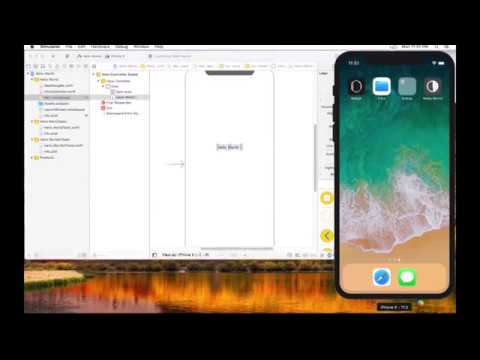 VMware iMac Guest OS, Running Xcode and iPhone Simulator, Under Windows 7 Host OS