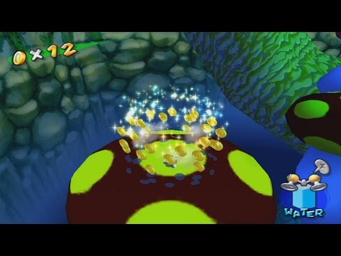 Super Mario Sunshine All 100 Coin Shines