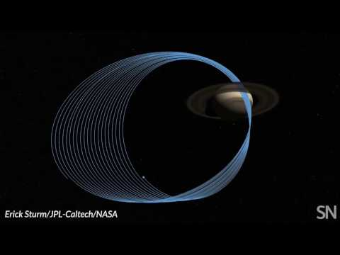 Cassini's final orbits around Saturn | Science News