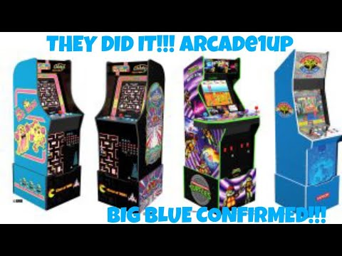 THEY DID IT!!! Arcade1Up Announces Street Fighter 2 Big Blue, Turtles In Time,  & Ms.Pac-Man/Galaga from MikeOfAllTrades