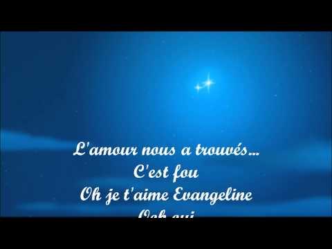 La princesse et la grenouille-Ma belle evangeline. (lyrics)