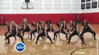 University of Cincinnati Dance Team Rock The #ViewSlide | The View
