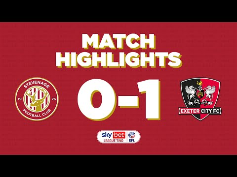 Stevenage Exeter City Goals And Highlights