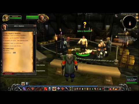 World of Warcraft gameplay en español - Parte 11 (Montañas Crestagrana-3)