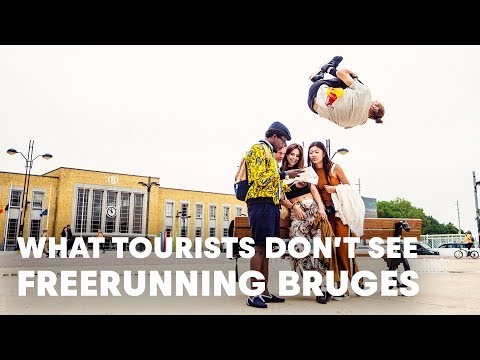 What Tourists Don't See. | Freerunning in Bruges With Dominic Di Tommaso.