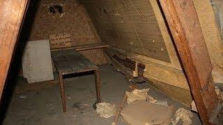 Geheime Räume, die in Häusern entdeckt wurden
