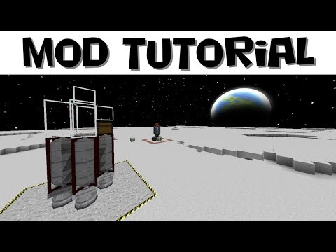 Advanced Rocketry Tutorial #4 - Building Rockets and Moon