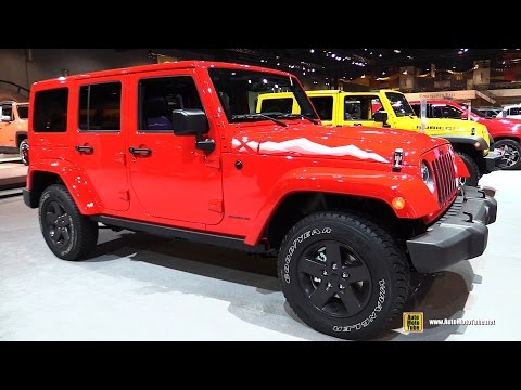 2015 Jeep Wrangler Unlimited X Edition - Exterior And Interior Walkaround - 2015 Chicago Auto Show