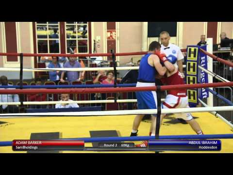 Haringey Box Cup SF - Adam Barker v. Abdul Ibrahim