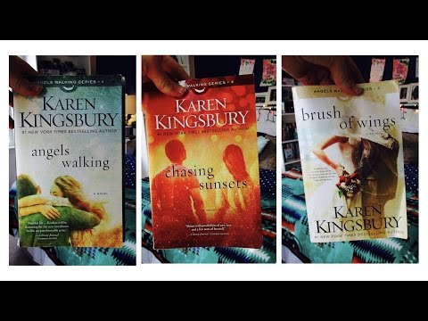 Christian Book Series I Love - Angels Walking by Karen Kingsbury / Book Review Young Adult & Teen