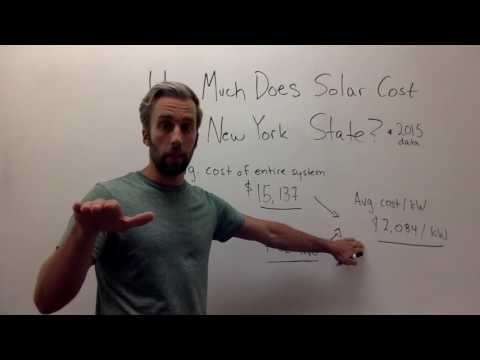 How Much do Solar Panels Cost in New York State? Solar to the People  Solar to the People