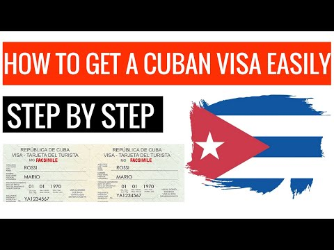 Visa To Cuba - How To Get Your Visa (Step By Step 2019)