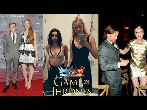 How are the actors of the series Game of Thrones 2 part