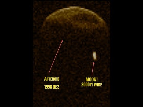 Big Earth Approaching Asteroid has a MOON! 6 football fields wide! ((Binary System))