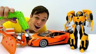 видео Трансформер игрушки для мальчиков