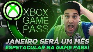 XBOX GAME PASS DE JANEIRO 2019 SERÁ ESPETACULAR!!! MINUTO XBOX #XBOXBR