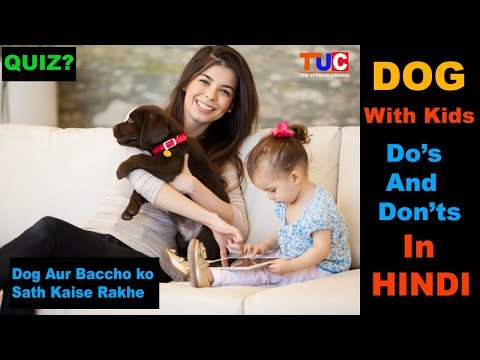 DOGS With Kids Do's And Dont's In Hindi : The Ultimate Channel