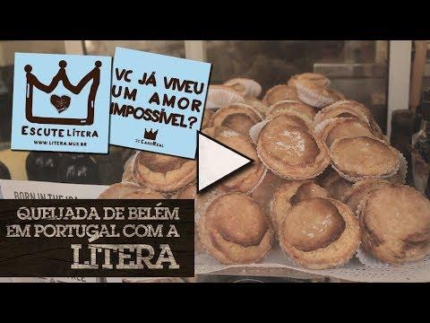 Queijada de Belém em Portugal com a Lítera #GSGPOA