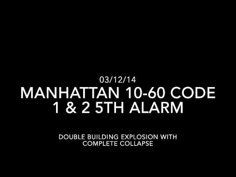FDNY East Harlem Explosion Audio - Box 1406 - 10-60 (Code 1&2) 5th Alarm - Explosion with Collapse