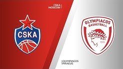 CSKA Moscow - Olympiacos Piraeus Highlights | Turkish Airlines EuroLeague, RS Round 5