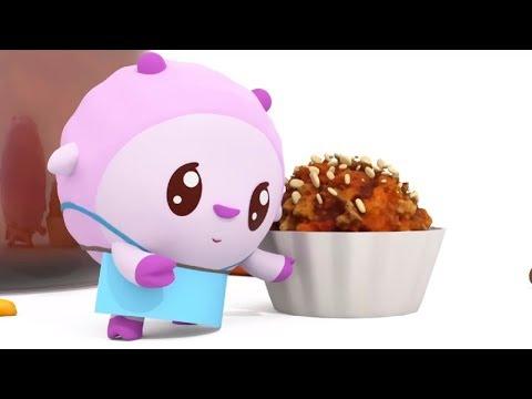 Малышарики - Обучающий мультик для малышей - Все серии про Здоровое питание - сборник