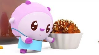 Малышарики - Повчальний мультик для малюків - Всі серії про Здорове харчування - збірник