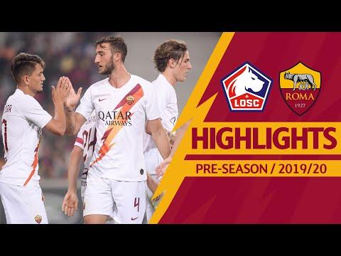 Lille v Roma 2-3 MATCH HIGHLIGHTS | 2019-20 PRE-SEASON
