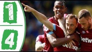 Watford 1 - 4 West Ham United