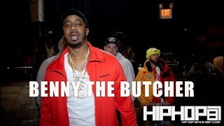Benny The Butcher Talks Jay Z, New Songs with Meek Mill & Russ, Harry Fraud, Drake, BSF, & More