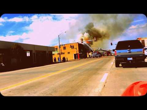 Fire in Scott city, ks