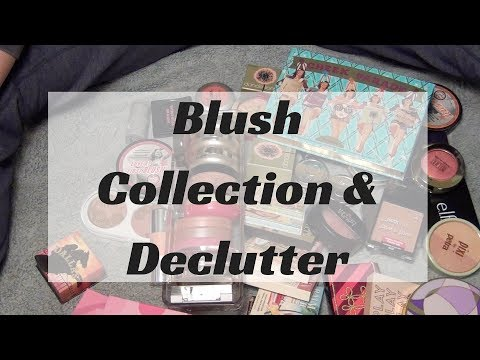 Blush Collection & Declutter