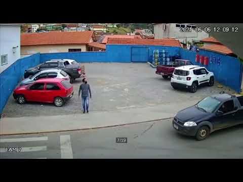 INCREÍBLE!!! Perro atropella a hombre que se disponía a cruzar la calle 😮