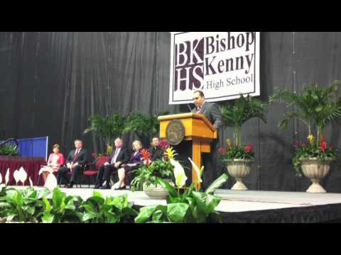 Dr. Rene Pulido's Speech at Bishop Kenny' Graduation Ceremony