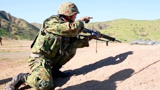 Japan Ground Self-Defense Force – Platoon Attack Training