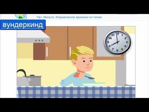 Как определить время по часам? Что такое час? Что такое минута?