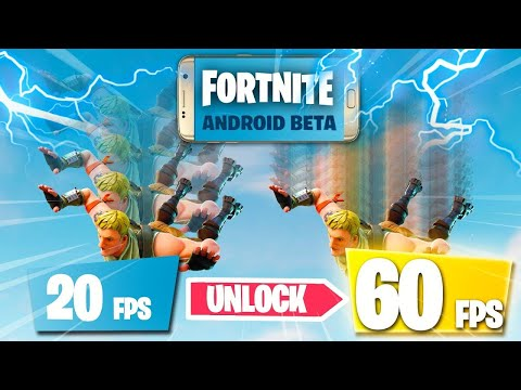 How To Play Fortnite Mobile With 60 Fps No Lag