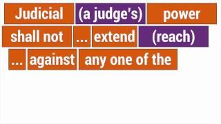 11th Amendment: Can you sue the United States?
