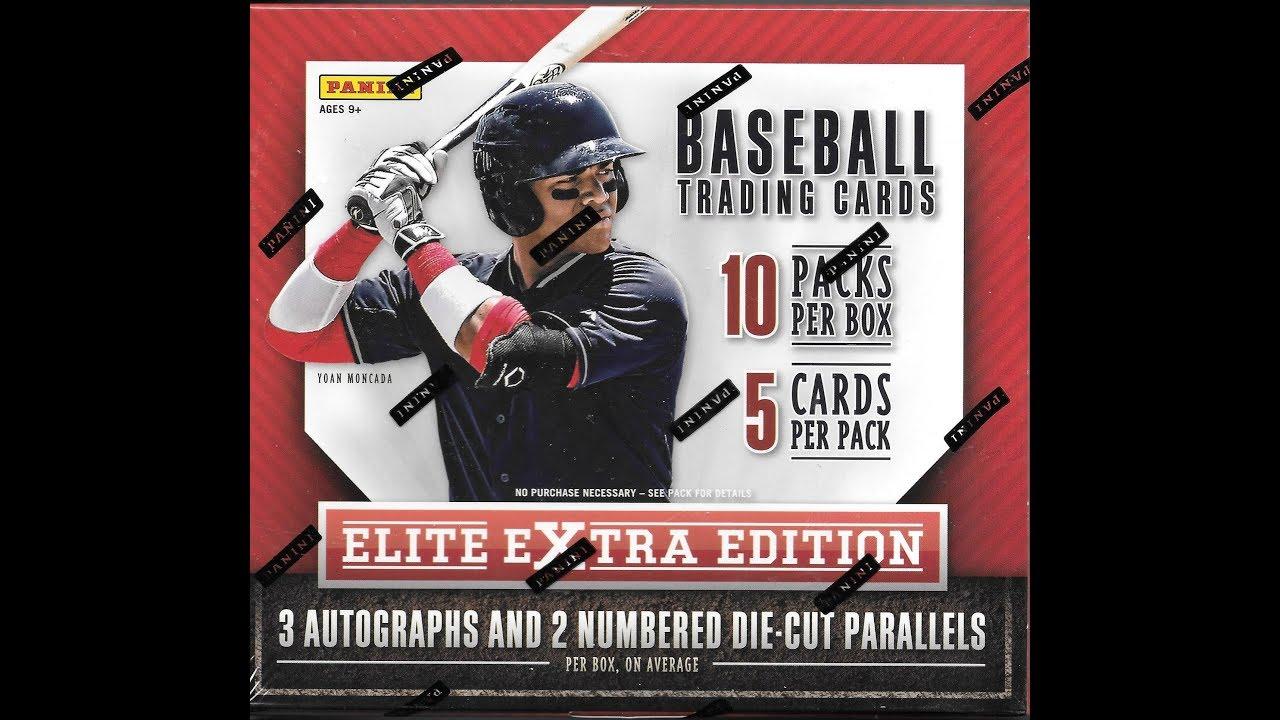16 pk 2015 Panini Elite Baseball HOBBY box