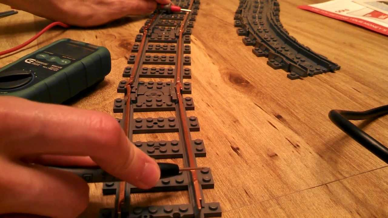 how to clean lego 9v train track