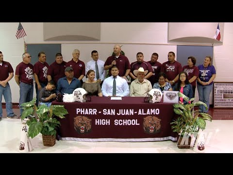 PSJA Early College High School Senior Andres Martinez Signs Letter of Intent to McMurry University