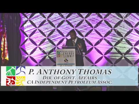 2016 Energy Summit: P. Anthony Thomas