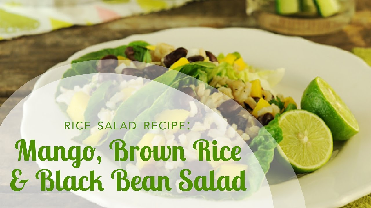 Rice Salad Recipe: Mango, Brown Rice and Black Bean Salad ...